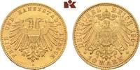 10 Mark 1901. Lübeck Freie und Hansestadt. Vorzüglich-Stempelglanz  2695,00 EUR free shipping