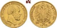 20 Mark 1872. Mecklenburg-Schwerin Friedrich Franz II., 1842-1883. Sehr... 1575,00 EUR  +  9,90 EUR shipping