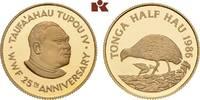 1/2 Hau 1986. TONGA Tupou IV, 1965-2006. Polierte Platte  425,00 EUR  +  9,90 EUR shipping