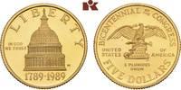 5 Dollars 1989 W, West Point. VEREINIGTE STAATEN VON AMERIKA / USA Föde... 345,00 EUR  +  9,90 EUR shipping
