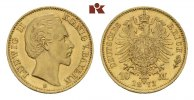 REICHSGOLDM&Uuml;NZEN 10 Mark 1873. Fast Stempelglanz BAYERN Ludwig II., 1864... 775,00 EUR 