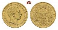 10 Mark 1907 A. Preussen Wilhelm II., 1888-1918. Vorzüglich-Stempelglanz  295,00 EUR  +  9,90 EUR shipping