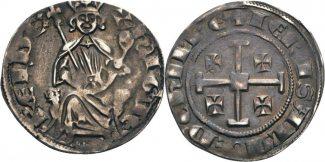 Zypern, Hugo IV. (1324-1359) Grosso o.J. s...