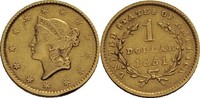 USA 1 Dollar, Philadelphia 1851 ss, min. Randfehler  245,00 EUR  +  9,90 EUR shipping