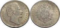 5 Mark 1875 Bayern Ludwig II. (1864-1886) fast vz, min. Randfehler u. K... 185,00 EUR  +  9,90 EUR shipping