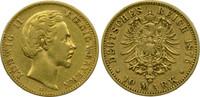 Deutschland Bayern 10 Mark Ludwig II.