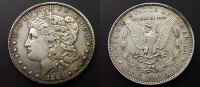 USA 1 Dollar 1885 ss+  35,00 EUR +  5,00 EUR shipping