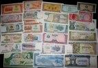 Kambodscha  Lot: KAMBODSCHA / KHMER  25x Banknote  I  [1956-2005]
