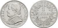 Lira 1866, ANNO XXI, Rom. ITALIEN Pius IX., 1846-1878. Fast vorzüglich .  50,00 EUR  +  7,00 EUR shipping