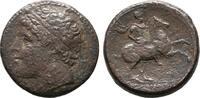 Æs  SICILIA SYRAKUS. Hieron II., 274-216 v. Chr. Sehr schön.  160,00 EUR