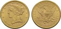 5 Dollar 1886 San Francisco. USA  Vs. Minim. Kratzer sonst Vorzüglich-s... 440,10 EUR  +  7,00 EUR shipping