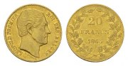 BELGIEN, K&ouml;nigreich. 20 Francs, Leopold, Jahr nach unserer Wahl.  Sehr s... 282,69 EUR 