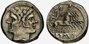 Rmisches Republik. Didrachme, 225 - 212 v...
