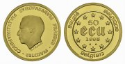 BELGIEN. 50 Ecu, 1993. Polierte Platte.  687,11 EUR 