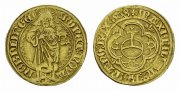 Nrdlingen, Reichsmnzsttte. Goldgulden Eberhard von Eppstein-Knigstein, 1503-1535.