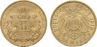 20 Mark 1913, J. Hamburg Freie und Hansestadt. Fast Stempelglanz/ Stemp... 425,00 EUR  +  7,00 EUR shipping