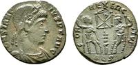 Æ-III, Aquilea. RÖMISCHE KAISERZEIT Constans, 337-350. Fast vorzüglich-... 60,00 EUR