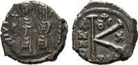Æ-Follis Constantinopel. BYZANZ Iustinus II., 565-578. Sehr schön.  45,00 EUR  +  7,00 EUR shipping