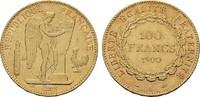 100 Francs 1900, A-Paris. FRANKREICH 3. Republik, 1870-1940. Vorzüglich... 1480,00 EUR free shipping