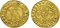 Goldgulden o.J.(1399-1402), Bingen. MAINZ ...