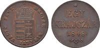 10 Krajczár 1848. KAISERREICH ÖSTERREICH Revolution in Ungarn, 1848-184... 100,00 EUR  +  7,00 EUR shipping