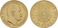 20 Mark 1878 C. Preussen Wilhelm I., 1861-1888. Vorzüglich  690,00 EUR