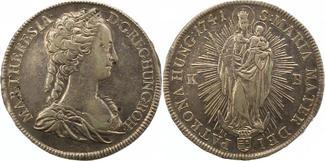 Taler 1741  KB Haus Habsburg Maria Theresi...