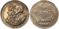 Brandenburg-Preuen Silbermedaille 1759 Wi...