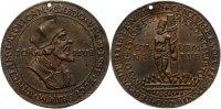 Bronzegussmedaille 6.7.1415 Personenmedaillen Hus, Johann *1369 Husinec... 375,00 EUR gratis verzending