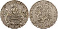 5 Mark 1876  J Hamburg  Sehr schön  90,00 EUR