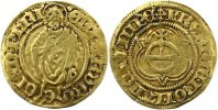 Ostfriesland Goldgulden  Gold Edzard I. 1491-1528.