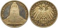 3 Mark 1913 Sachsen Friedrich August III. 1904-1918. Polierte Platte. V... 65,00 EUR