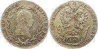10 Kreuzer 1791  B Haus Habsburg Leopold II. 1790-1792. Sehr schön  85,00 EUR