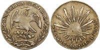 8 Reales 1838  MO Mexiko Republik 1823-1864. Sehr schön  85,00 EUR