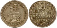 Ausbeute 1/24 Taler 1744 Stolberg-Stolberg Christoph Ludwig und Friedri... 95,00 EUR  Excl. 4,00 EUR Verzending