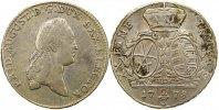 2/3 Taler 1778 Sachsen-Albertinische Linie Friedrich August III. 1763-1... 85,00 EUR  +  4,00 EUR shipping