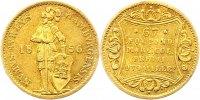 Dukat Gold 1856 Hamburg, Stadt  Fast vorzüglich  645,00 EUR gratis verzending