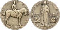 Silbermedaille 1915 Brandenburg-Preußen Wilhelm II. 1888-1918. Mattiert... 135,00 EUR