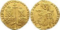 Solidus 867 - 886 n. Chr.  Basilius I. 867 - 886. Winz. Randfehler, vor... 850,00 EUR free shipping