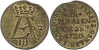 2 Mariengroschen 1720 Osnabrück-Bistum Ernst August II. von York 1716-1... 125,00 EUR  Excl. 4,00 EUR Verzending