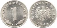 Alliierte Besetzung 1 Pfennig Probe