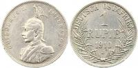 Rupie 1910  J Deutsch Ostafrika  Sehr schön  55,00 EUR  +  4,00 EUR shipping