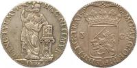3 Gulden 1795 Niederlande-Utrecht, Provinz  Sehr schön  165,00 EUR  +  4,00 EUR shipping