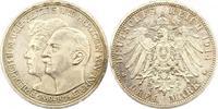 3 Mark zur Silberhochzeit 1914  A Anhalt Friedrich II. 1904-1918. Vorzü... 75,00 EUR