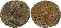 Kaiserzeit Dupondius Hadrian 117-138.