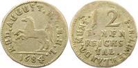 1/12 Tler 1684 Braunschweig-Wolfenbüttel Rudolf August 1666-1685. Fast ... 85,00 EUR