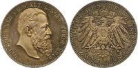 2 Mark 1899  A Reuß, ältere Linie Heinrich XXII. 1859-1902. Schöne Pati... 775,00 EUR free shipping