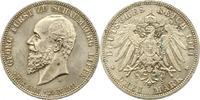Schaumburg-Lippe 3 Mark Georg 1893-1911.