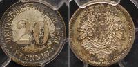 20 Pfennig 1874  D Kleinmünzen  PCGS MS 66  125,00 EUR  +  4,00 EUR shipping