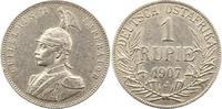 Rupie 1907  J Deutsch Ostafrika  Fast vorzüglich  95,00 EUR